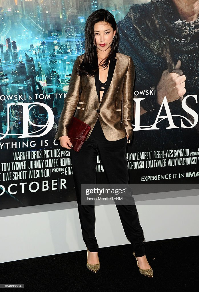 Actress Zhu Zhu arrives at Warner Bros. Pictures' 'Cloud Atlas' premiere at Grauman's Chinese Theatre on October 24, 2012 in Hollywood, California.