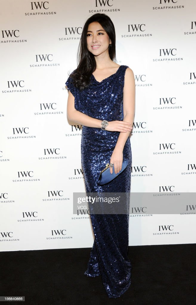 Actress <a gi-track='captionPersonalityLinkClicked' href=/galleries/search?phrase=Zhu+Zhu&family=editorial&specificpeople=4421471 ng-click='$event.stopPropagation()'>Zhu Zhu</a> attends IWC flagship store opening ceremony at Parkview Green Shopping Mall on November 22, 2012 in Beijing, China.