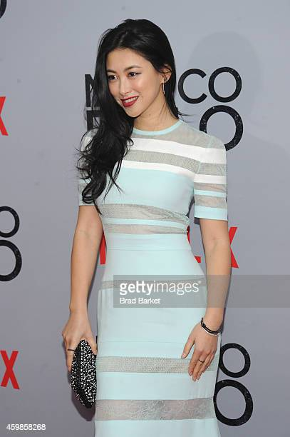 Actress Zhu Zhu attends the 'Marco Polo' New York Series Premiere at AMC Lincoln Square Theater on December 2 2014 in New York City