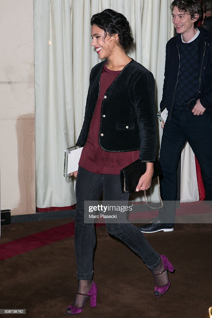 Actress Zita Hanrot attends the 'Cesar 2016- Nominee luncheon' at Le Fouquet's on February 6, 2016 in Paris, France.