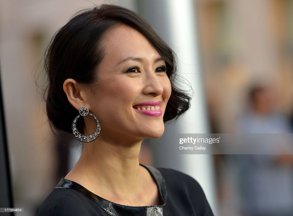 Actress <a gi-track='captionPersonalityLinkClicked' href=/galleries/search?phrase=Ziyi+Zhang&family=editorial&specificpeople=172013 ng-click='$event.stopPropagation()'>Ziyi Zhang</a> arrives at a screening of The Weinstein Company And Annapurna Pictures' 'The Grandmaster' at the Arclight Theatre on August 22, 2013 in Los Angeles, California.
