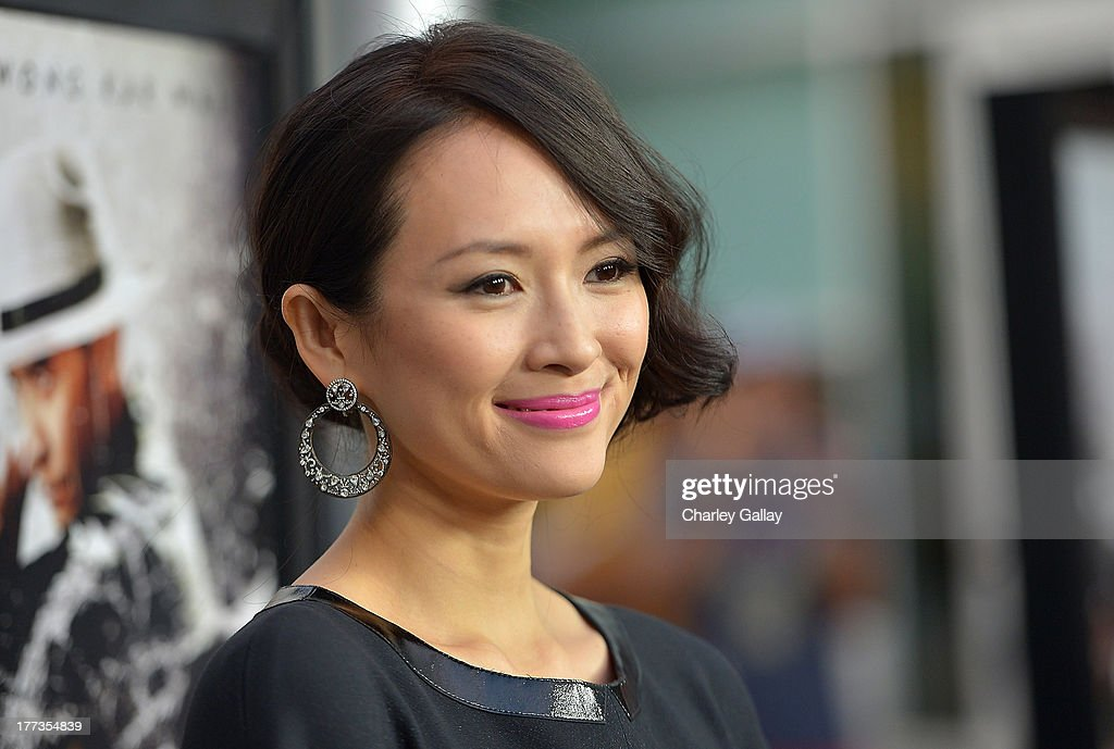 Actress Ziyi Zhang arrives at a screening of The Weinstein Company And Annapurna Pictures' 'The Grandmaster' at the Arclight Theatre on August 22, 2013 in Los Angeles, California.