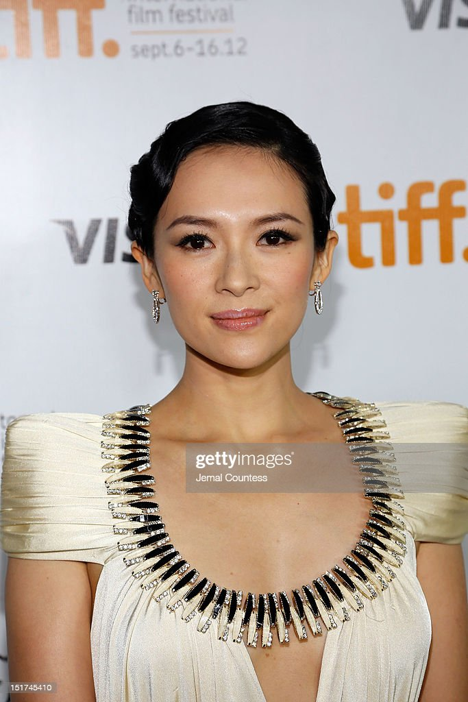 Actress Ziyi Zhang arrives at the 'Dangerous Liaisons' Premiere during the 2012 Toronto International Film Festival at Roy Thomson Hall on September 10, 2012 in Toronto, Canada.