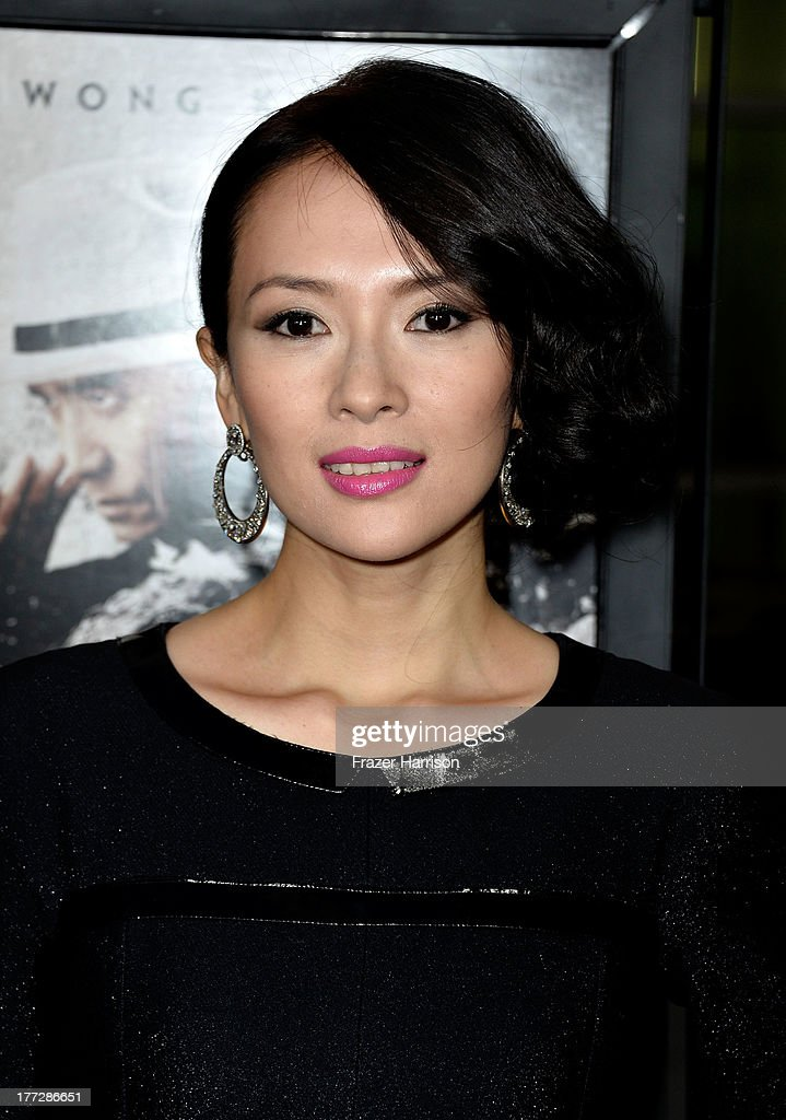 Actress Ziyi Zhang arrives at the Screening Of The Weinstein Company And Annapurna Pictures' 'The Grandmaster' at ArcLight Cinemas on August 22, 2013 in Hollywood, California.