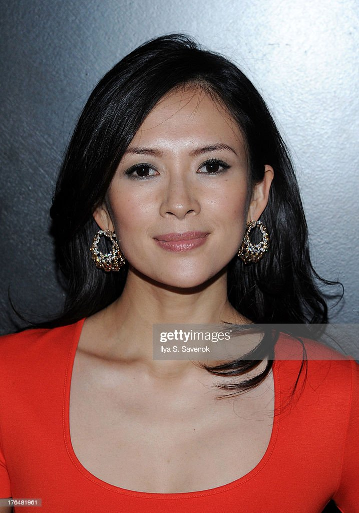 Actress <a gi-track='captionPersonalityLinkClicked' href=/galleries/search?phrase=Ziyi+Zhang&family=editorial&specificpeople=172013 ng-click='$event.stopPropagation()'>Ziyi Zhang</a> attends 'The Grandmaster' New York Screening after party at Forty Four at the Royalton on August 13, 2013 in New York City.