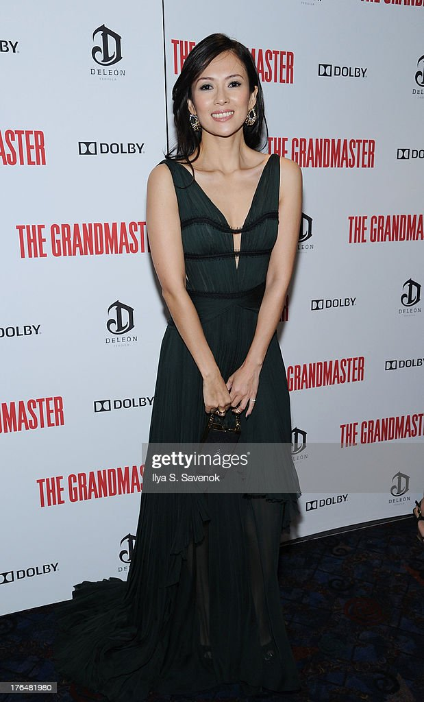 Actress <a gi-track='captionPersonalityLinkClicked' href=/galleries/search?phrase=Ziyi+Zhang&family=editorial&specificpeople=172013 ng-click='$event.stopPropagation()'>Ziyi Zhang</a> attends 'The Grandmaster' New York Screening at Regal E-Walk Stadium 13 on August 13, 2013 in New York City.