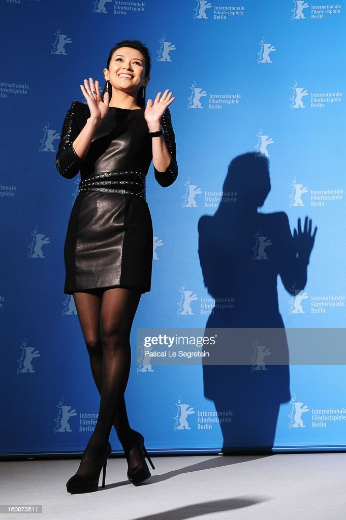 Actress <a gi-track='captionPersonalityLinkClicked' href=/galleries/search?phrase=Ziyi+Zhang&family=editorial&specificpeople=172013 ng-click='$event.stopPropagation()'>Ziyi Zhang</a> attends 'The Grandmaster' Photocall during the 63rd Berlinale International Film Festival at The Grand Hyatt Hotel on February 7, 2013 in Berlin, Germany.