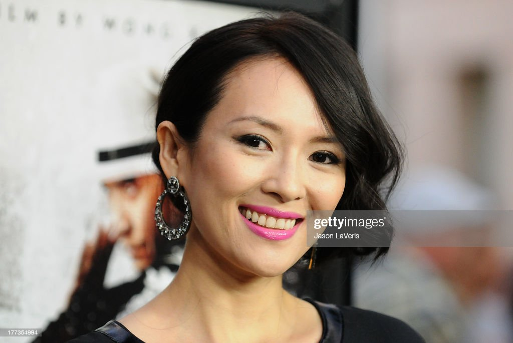 Actress <a gi-track='captionPersonalityLinkClicked' href=/galleries/search?phrase=Ziyi+Zhang&family=editorial&specificpeople=172013 ng-click='$event.stopPropagation()'>Ziyi Zhang</a> attends the premiere of 'The Grandmaster' at ArcLight Cinemas on August 22, 2013 in Hollywood, California.