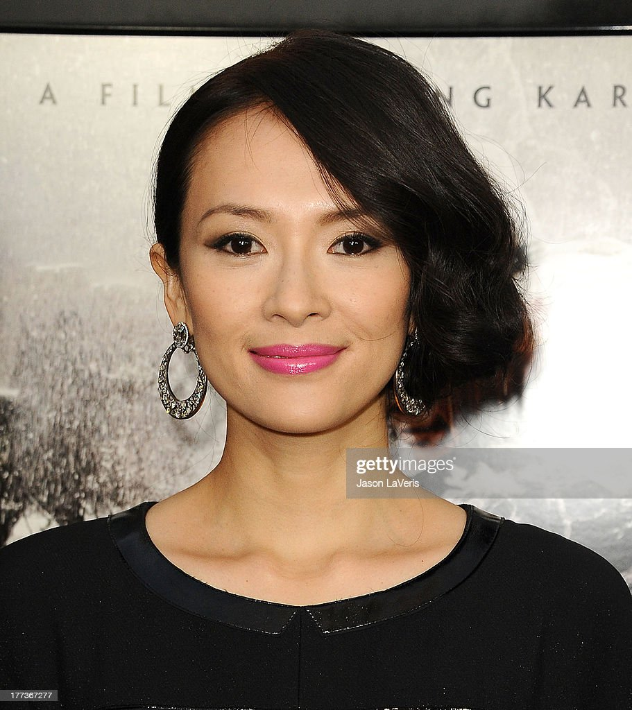 Actress Ziyi Zhang attends the premiere of 'The Grandmaster' at ArcLight Cinemas on August 22, 2013 in Hollywood, California.