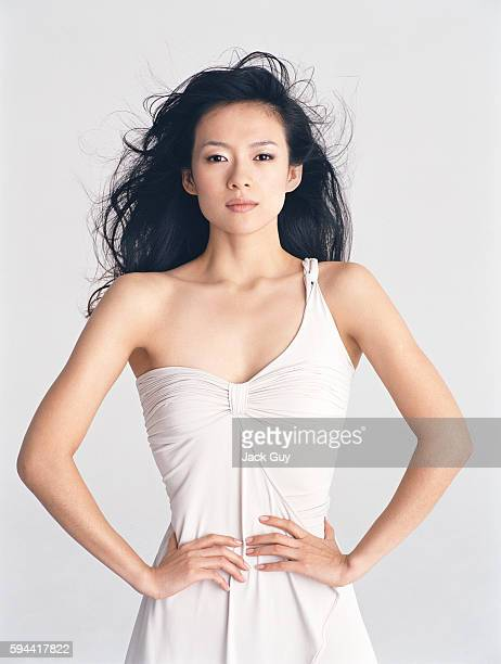 Actress Ziyi Zhang is photographed 2005 in Los Angeles California PUBLISHED IMAGE