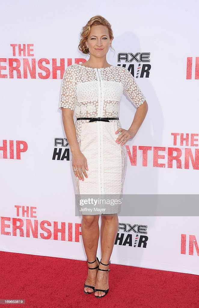 Actress Zoe Bell arrives at 'The Internship' - Los Angeles Premiere at Regency Village Theatre on May 29, 2013 in Westwood, California.