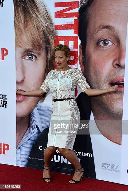 Actress Zoe Bell arrives at the Premiere Of Twentieth Century Fox's 'The Internship' on May 29 2013 in Westwood California