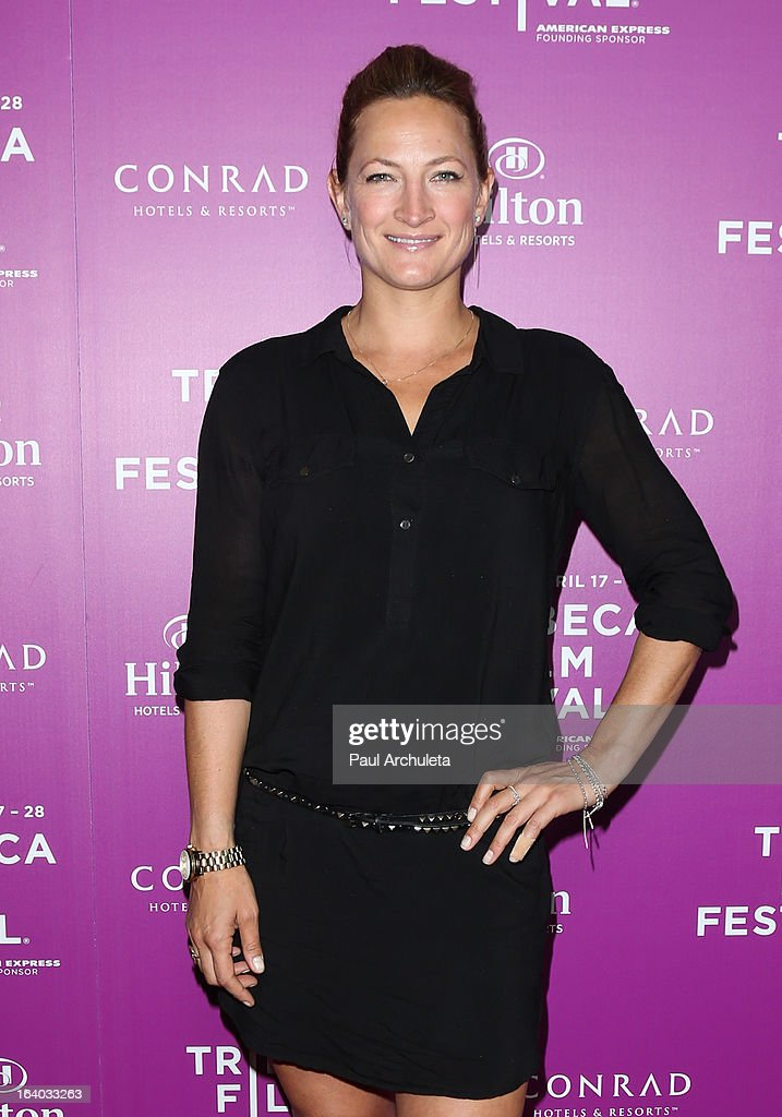 Actress Zoe Bell attends the 5th annual Tribeca Film Festival 2013 LA reception at The Beverly Hilton Hotel on March 18, 2013 in Beverly Hills, California.