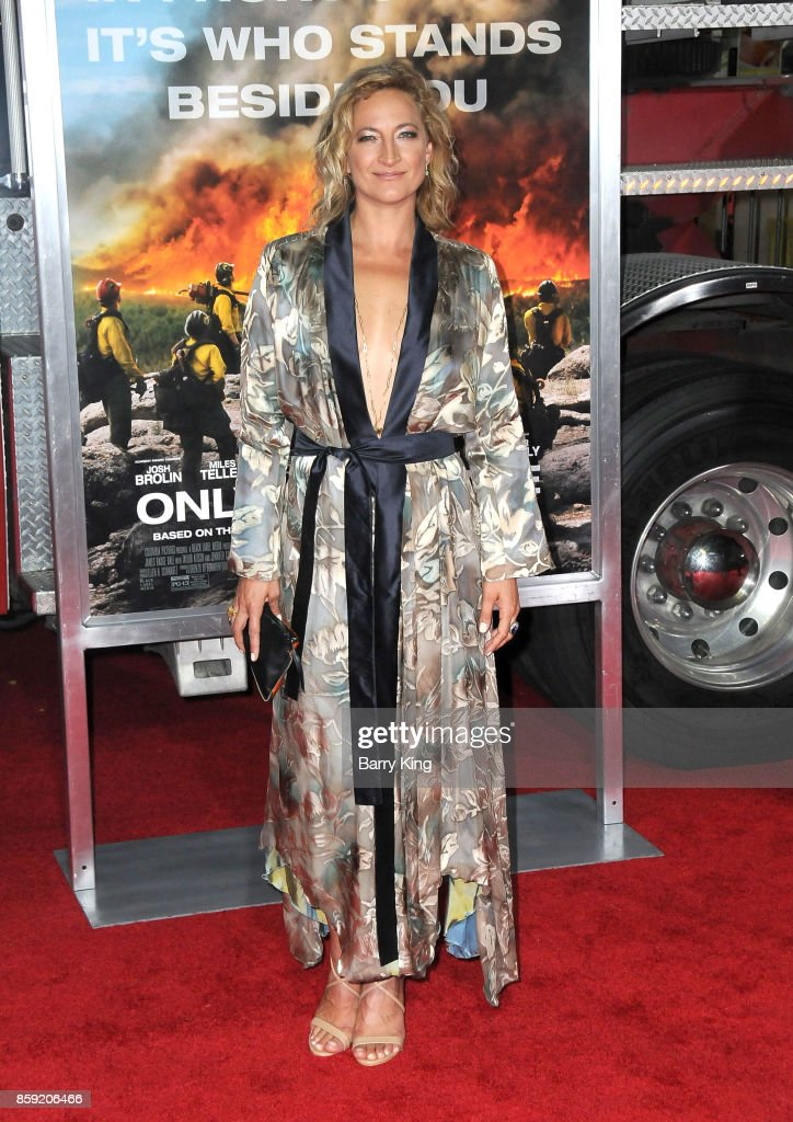 Actress Zoe Bell attends the premiere of Columbia Pictures' 'Only The Brave' at Regency Village Theatre on October 8, 2017 in Westwood, California.