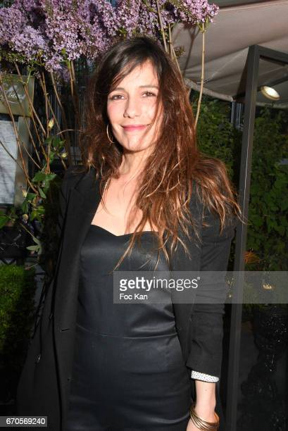 Actress Zoe Felix attends 'La Closerie Des Lilas' Literary Awards 2016 At La Closerie Des Lilas on April 20 2017 in Paris France