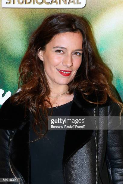 Actress Zoe Felix attends the 'Gauguin Voyage de Tahiti' Paris Premiere at Cinema Gaumont Capucine on September 18 2017 in Paris France