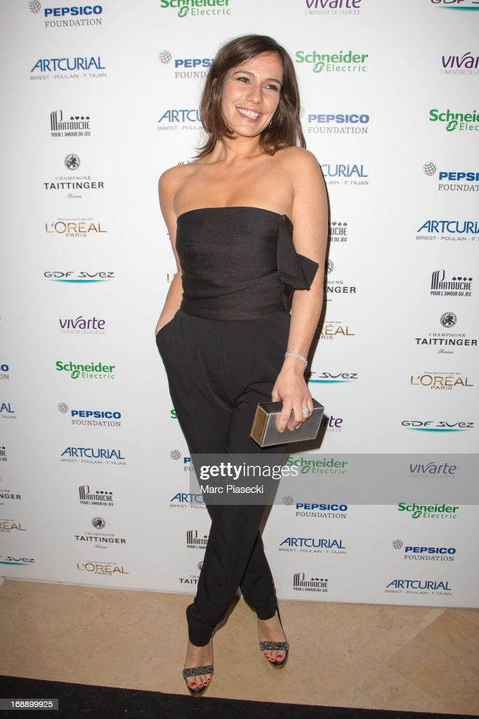 Actress <a gi-track='captionPersonalityLinkClicked' href=/galleries/search?phrase=Zoe+Felix&family=editorial&specificpeople=538434 ng-click='$event.stopPropagation()'>Zoe Felix</a> attends the 'Planet Finance' dinner photocall at the 'Carlton' hotel during the 66th annual Cannes Film Festival on May 16, 2013 in Cannes, France.
