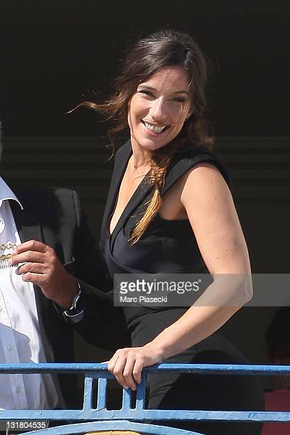 Actress Zoe Felix is spotted at the 'Martinez' hotel during a photoshoot on May 20 2011 in Cannes France