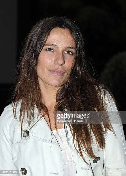 Actress Zoe Felix poses as she arrives at the Chloe new Fragance at the Apicius restaurant in Paris on June 16 2010 in Paris France