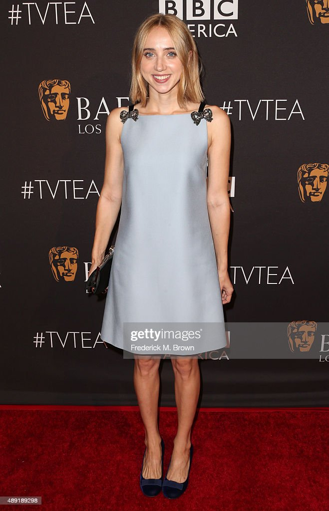 Actress Zoe Kazan attends the 2015 BAFTA Los Angeles TV Tea at SLS Hotel on September 19 2015 in Beverly Hills California