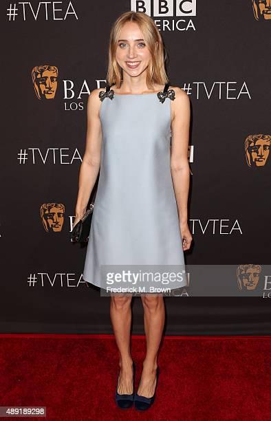 Actress Zoe Kazan attends the 2015 BAFTA Los Angeles TV Tea at SLS Hotel on September 19 2015 in Beverly Hills California