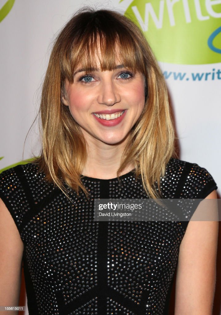 Actress Zoe Kazan attends the Bold Ink Awards at the Eli and Edythe Broad Stage on November 5 2012 in Santa Monica California