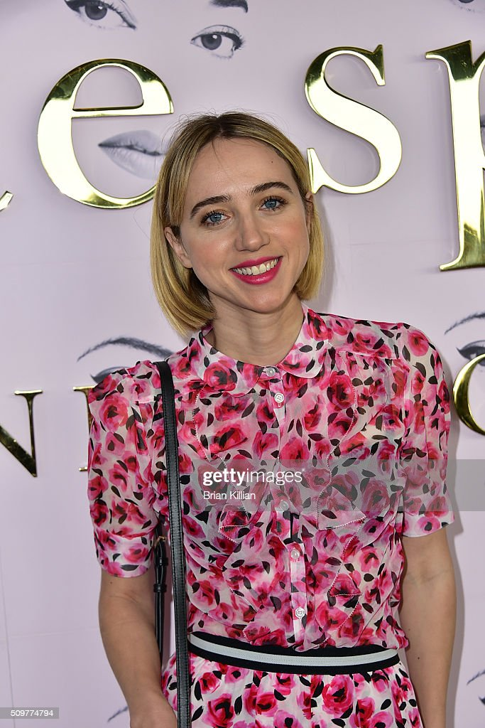 Actress <a gi-track='captionPersonalityLinkClicked' href=/galleries/search?phrase=Zoe+Kazan&family=editorial&specificpeople=3953779 ng-click='$event.stopPropagation()'>Zoe Kazan</a> attends the Kate Spade New York Fall 2016 Presentation during New York Fashion Week at The Rainbow Room on February 12, 2016 in New York City.