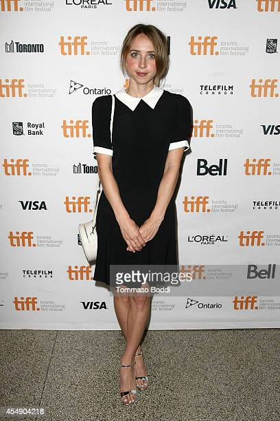 Actress Zoe Kazan attends the 'Love Mercy' premiere during the 2014 Toronto International Film Festival at The Elgin on September 7 2014 in Toronto...