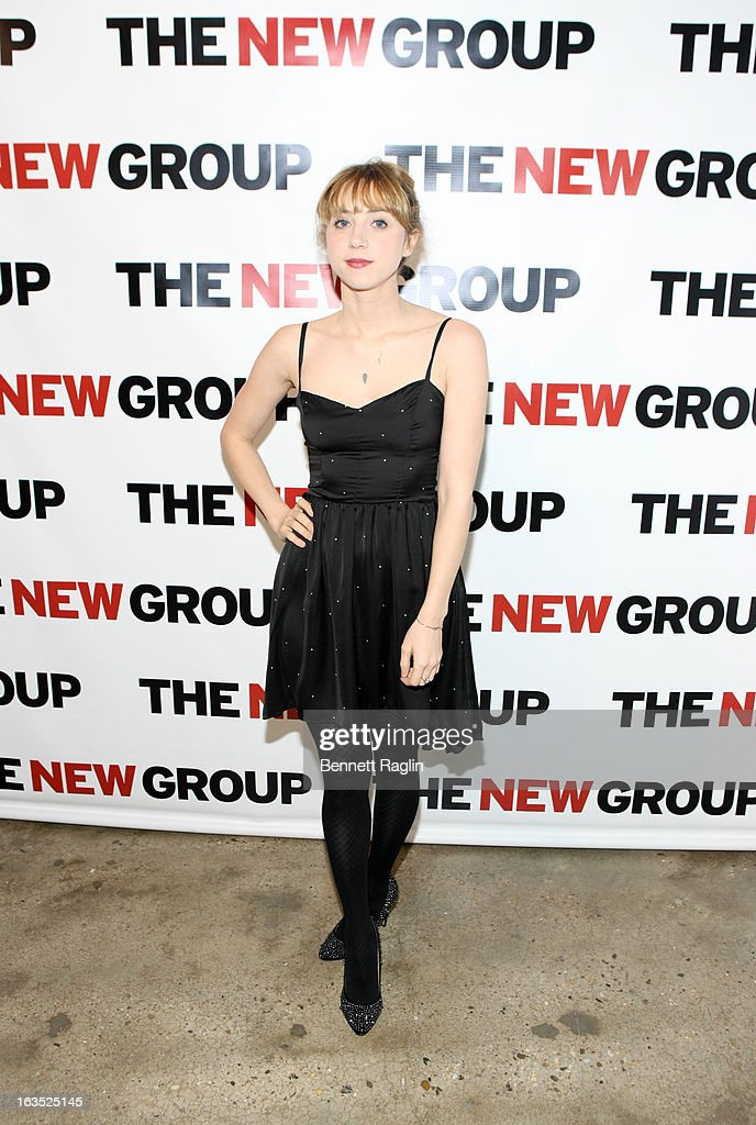 Actress Zoe Kazan attends The New Group Bright Lights Off-Broadway 2013 Gala at Tribeca Rooftop on March 11, 2013 in New York City.