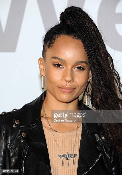 Actress Zoe Kravitz attends 2016 Volkswagon Passat Unveiling and Special Performance by Lenny Kravitz at the Duggal Greenhouse on September 21 2015...