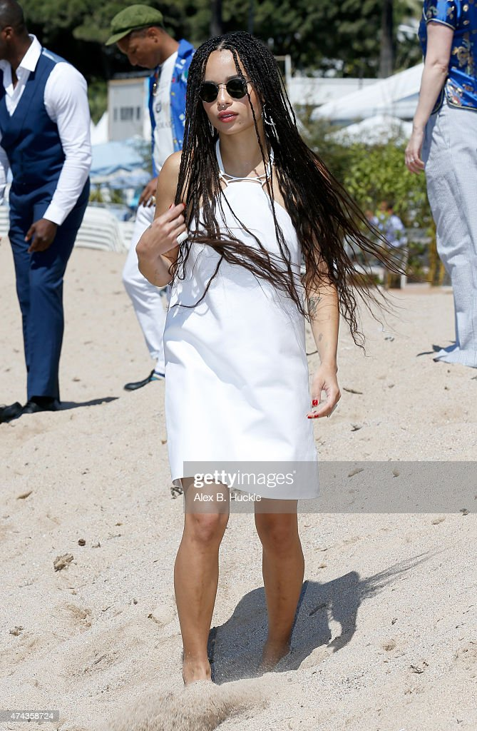 Actress Zoe Kravitz attends a photocall for 'Dope' during the 68th annual Cannes Film Festival on May 22, 2015 in Cannes, France.
