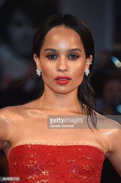 Actress Zoe Kravitz attends 'Good Kill' Premiere during the 71st Venice Film Festival at Sala Grande on September 5 2014 in Venice Italy