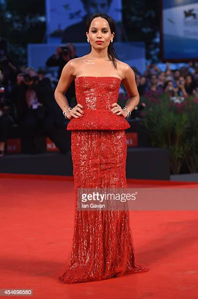 Actress Zoe Kravitz attends 'Good Kill' Premiere during the 71st Venice Film Festival on September 5 2014 in Venice Italy