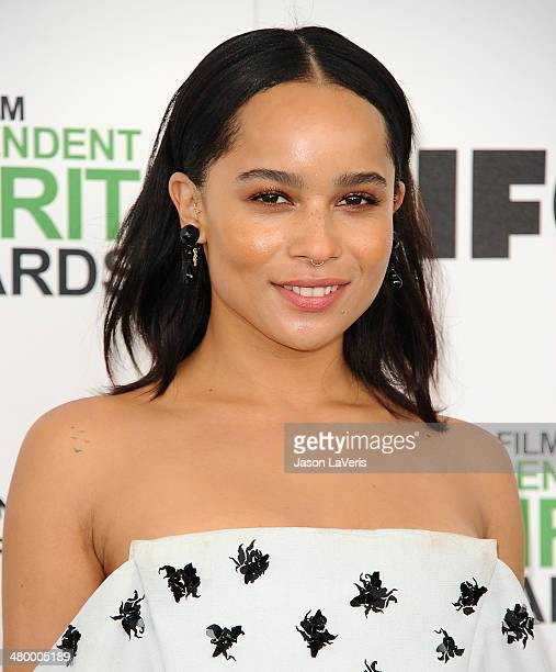 Actress Zoe Kravitz attends the 2014 Film Independent Spirit Awards on March 1 2014 in Santa Monica California