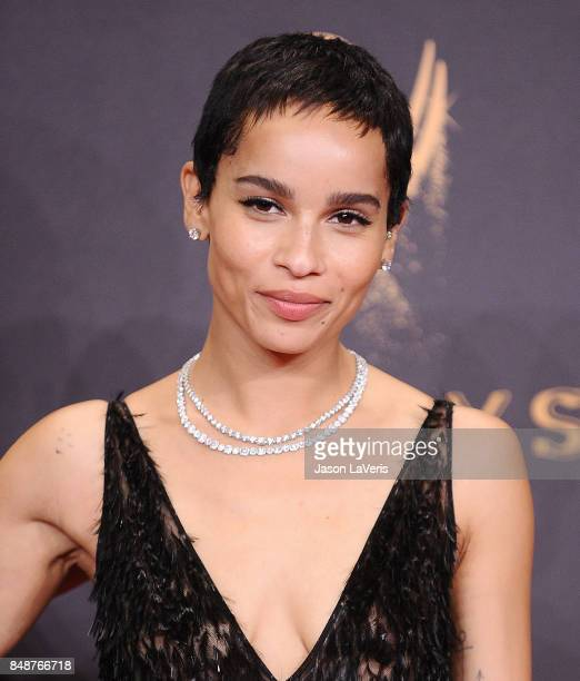Actress Zoe Kravitz attends the 69th annual Primetime Emmy Awards at Microsoft Theater on September 17 2017 in Los Angeles California
