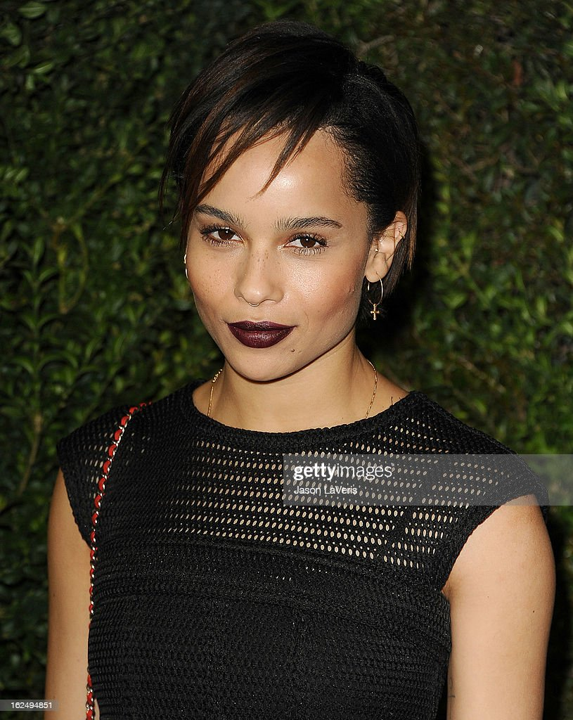 Actress Zoe Kravitz attends the Chanel Pre-Oscar dinner at Madeo Restaurant on February 23, 2013 in Los Angeles, California.
