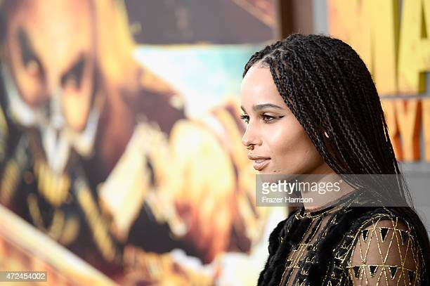 Actress Zoe Kravitz attends the premiere of Warner Bros Pictures' 'Mad Max Fury Road' at TCL Chinese Theatre on May 7 2015 in Hollywood California