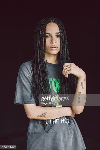 Actress Zoe Kravitz poses for a portrait backstage at The FADER FORT Presented by Converse during SXSW on March 19 2015 in Austin Texas