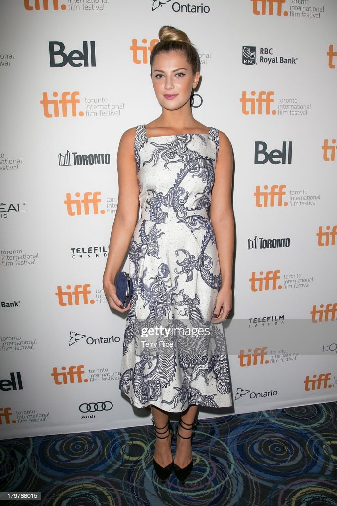 Actress Zoe Levin arrives at the 'Palo Alto' premiere during the 2013 Toronto International Film Festival at Scotiabank Theatre on September 6, 2013 in Toronto, Canada.