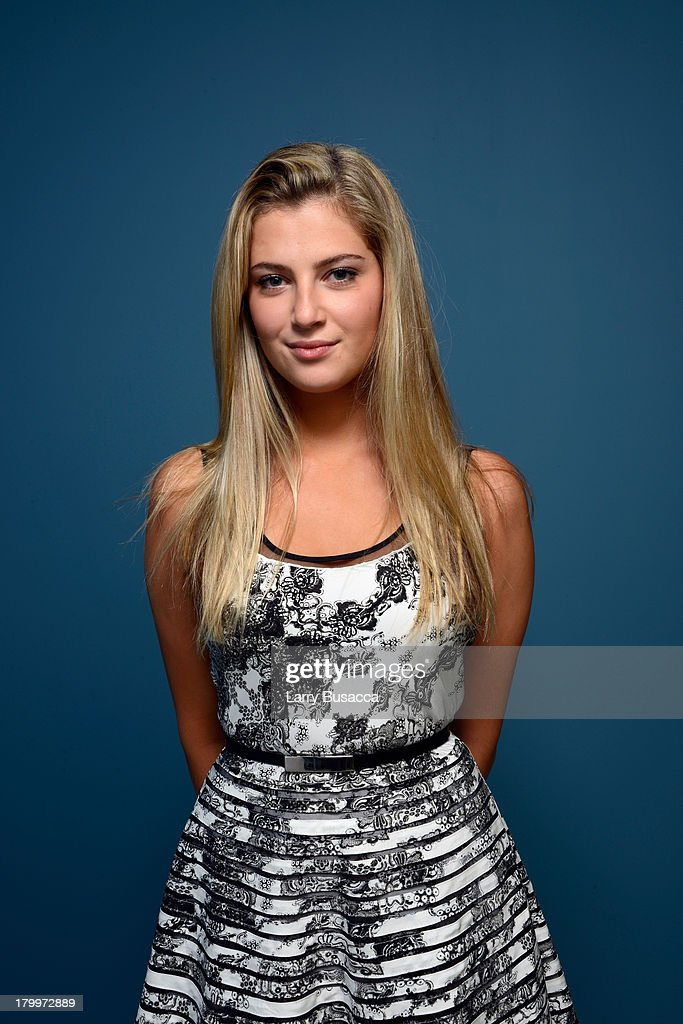 Actress Zoe Levin of 'Palo Alto' poses at the Guess Portrait Studio during 2013 Toronto International Film Festival on September 7 2013 in Toronto...