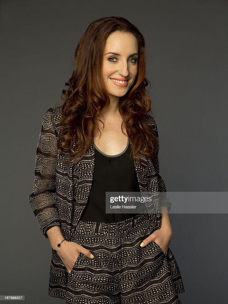 Actress Zoe Lister Jones is photographed for Self Assignment on April 25, 2012 in New York City.