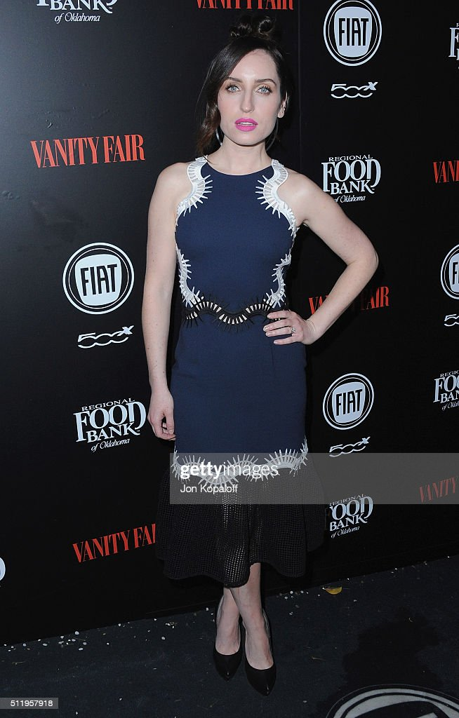 Actress <a gi-track='captionPersonalityLinkClicked' href=/galleries/search?phrase=Zoe+Lister-Jones&family=editorial&specificpeople=655703 ng-click='$event.stopPropagation()'>Zoe Lister-Jones</a> arrives at Vanity Fair And FIAT Toast To 'Young Hollywood' at Chateau Marmont on February 23, 2016 in Los Angeles, California.
