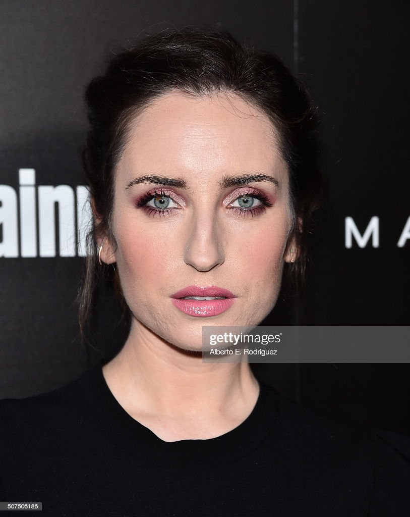 Actress Zoe Lister-Jones attends Entertainment Weekly's celebration honoring THe Screen Actors Guild presented by Maybeline at Chateau Marmont on January 29, 2016 in Los Angeles, California.