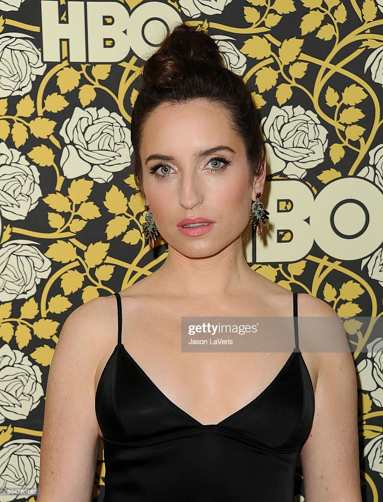 Actress <a gi-track='captionPersonalityLinkClicked' href=/galleries/search?phrase=Zoe+Lister-Jones&family=editorial&specificpeople=655703 ng-click='$event.stopPropagation()'>Zoe Lister-Jones</a> attends HBO's post 2016 Golden Globe Awards party at Circa 55 Restaurant on January 10, 2016 in Los Angeles, California.