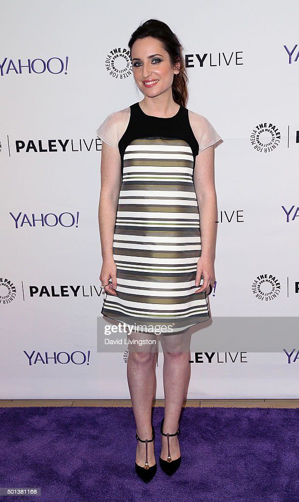 Actress <a gi-track='captionPersonalityLinkClicked' href=/galleries/search?phrase=Zoe+Lister-Jones&family=editorial&specificpeople=655703 ng-click='$event.stopPropagation()'>Zoe Lister-Jones</a> attends PaleyLive
