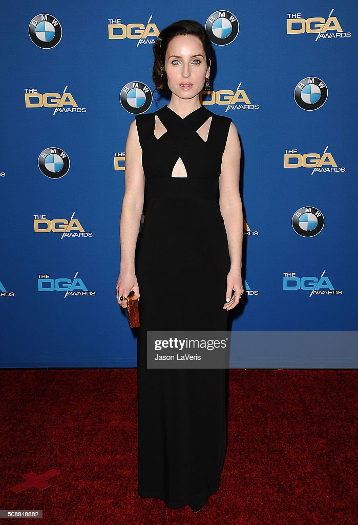 Actress <a gi-track='captionPersonalityLinkClicked' href=/galleries/search?phrase=Zoe+Lister-Jones&family=editorial&specificpeople=655703 ng-click='$event.stopPropagation()'>Zoe Lister-Jones</a> attends the 68th annual Directors Guild of America Awards at the Hyatt Regency Century Plaza on February 6, 2016 in Los Angeles, California.