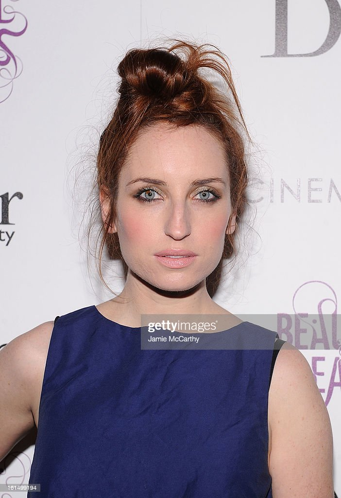 Actress Zoe Lister-Jones attends The Cinema Society And Dior Beauty Presents A Screening Of 'Beautiful Creatures' at Tribeca Cinemas on February 11, 2013 in New York City.
