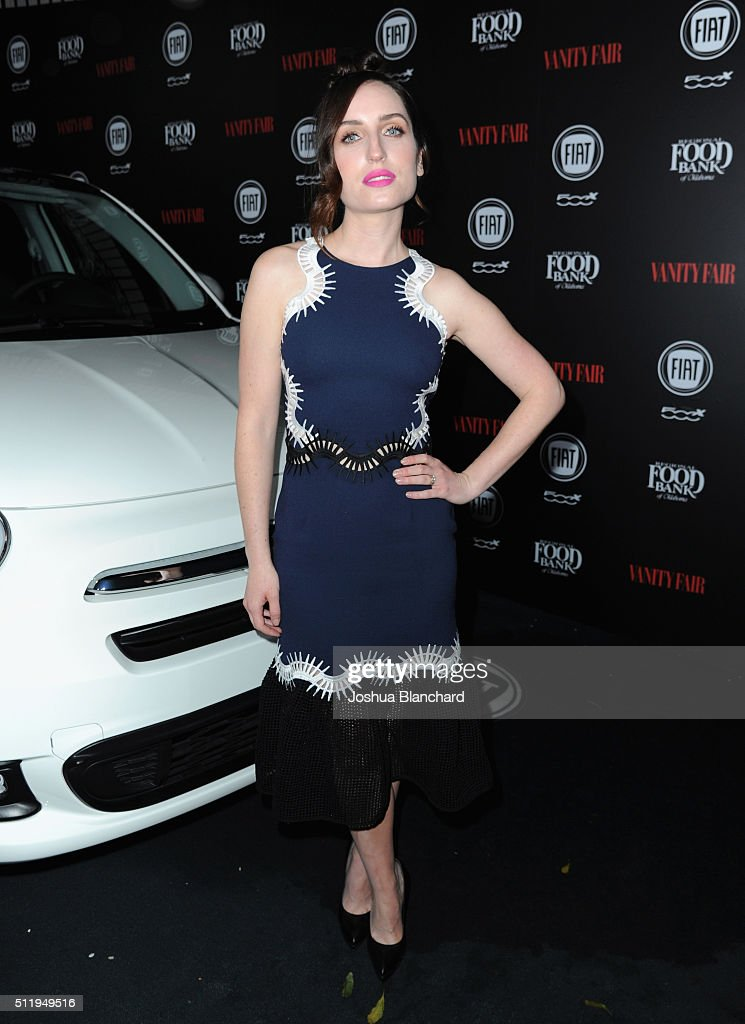Actress <a gi-track='captionPersonalityLinkClicked' href=/galleries/search?phrase=Zoe+Lister-Jones&family=editorial&specificpeople=655703 ng-click='$event.stopPropagation()'>Zoe Lister-Jones</a> attends Vanity Fair and FIAT Young Hollywood Celebration at Chateau Marmont on February 23, 2016 in Los Angeles, California.