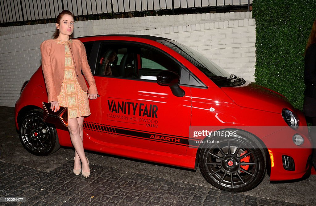 """Actress Zoe Lister-Jones attends Vanity Fair and Juicy Couture's Celebration of the 2013 """"Vanities"""" Calendar hosted by Vanity Fair West Coast Editor Krista Smith and actress Olivia Munn in support of the Regional Food Bank of Oklahoma, a member of Feeding America, at the Chateau Marmont on February 18, 2013 in Los Angeles, California."""