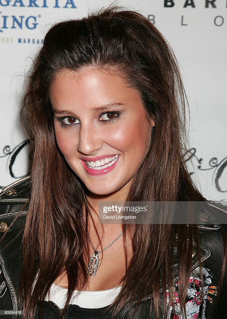 Actress Zoe Myers attends Los Angeles Fashion Week's grand finale party in the LA Arts District on October 17, 2008 in Los Angeles, California.
